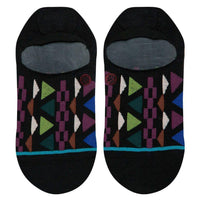 Stance Aztec Low Super Invisible Socks - Black Mens Invisible/No Show Socks by Stance