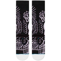 Stance B.I.G. Socks - Black Mens Crew Length Socks by Stance