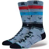 Stance Be Cool Socks in Rust Mens Crew Length Socks by Stance