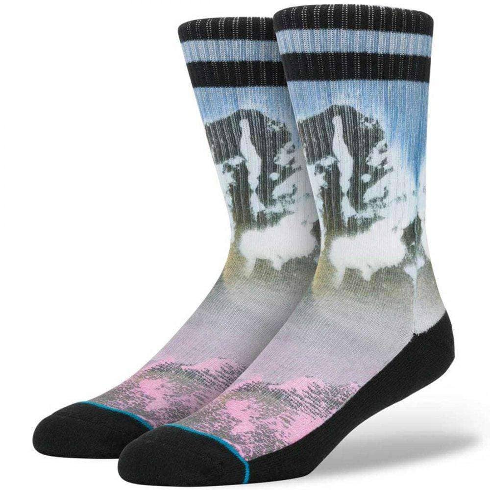 Stance Benito Socks in Blue Mens Crew Length Socks by Stance