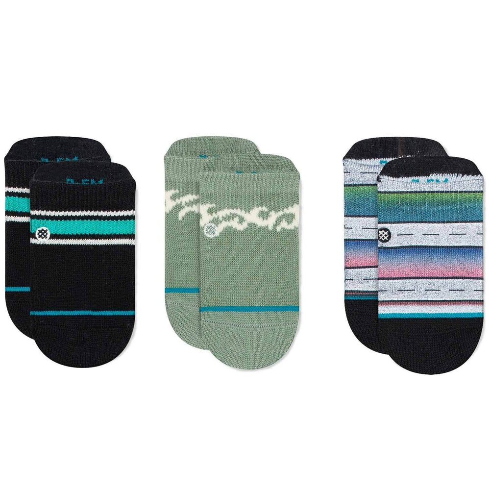 Stance Boyd Baby Socks - 3 Pack Multi Boys Baby/Toddler Socks by Stance
