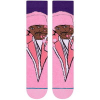 Stance CamRon Socks - Pink Mens Crew Length Socks by Stance