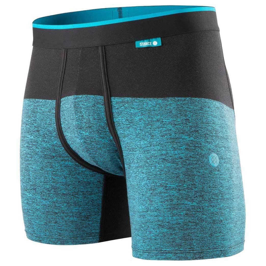 Stance Mens Boxer Briefs Underwear Stance Cartridge Wholester Boxer Brief - Turquoise