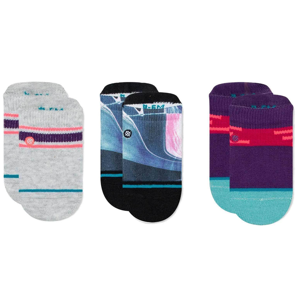 Stance Cassini Baby Socks - 3 Pack Multi Boys Baby/Toddler Socks by Stance