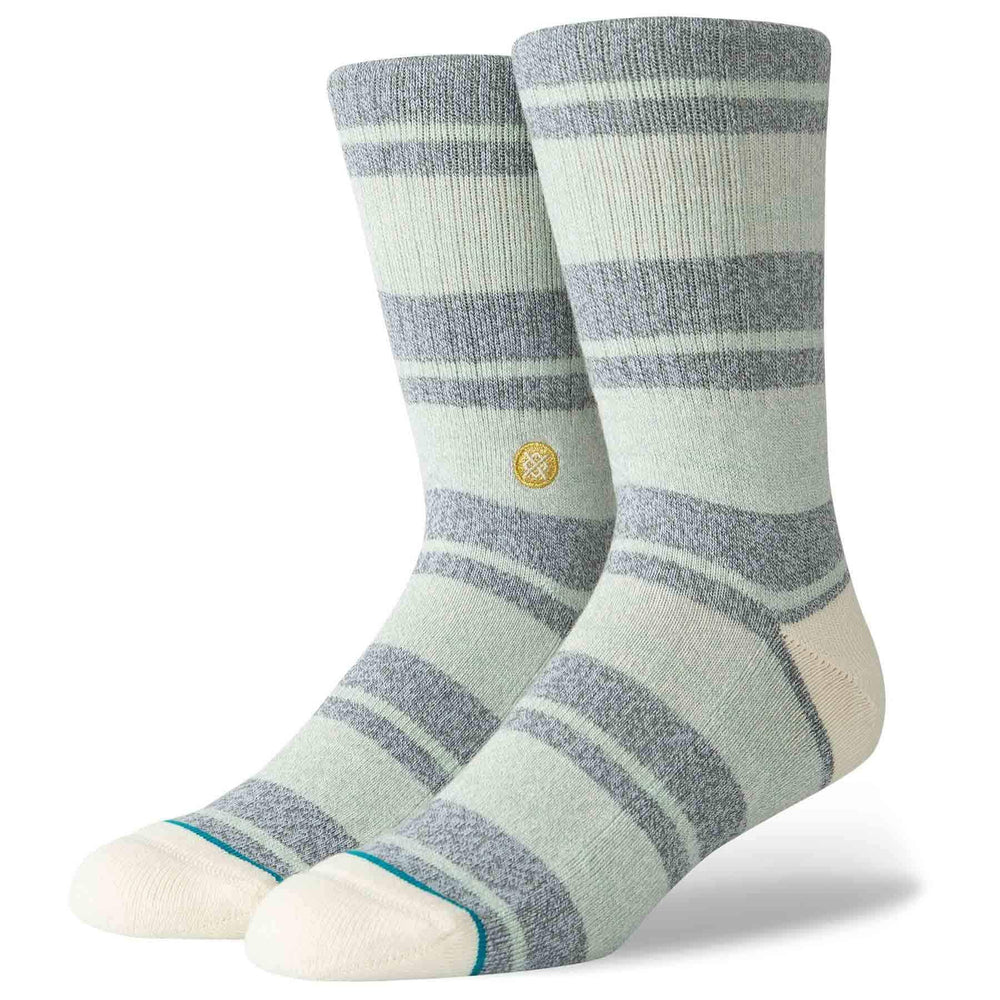 Stance Cope Socks - Natural Mens Crew Length Socks by Stance