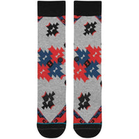 Stance Dust Devils Socks in Black Mens Crew Length Socks by Stance