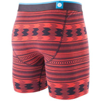 Stance Era Wholester Boxers in Red Mens Boxer Briefs Underwear by Stance