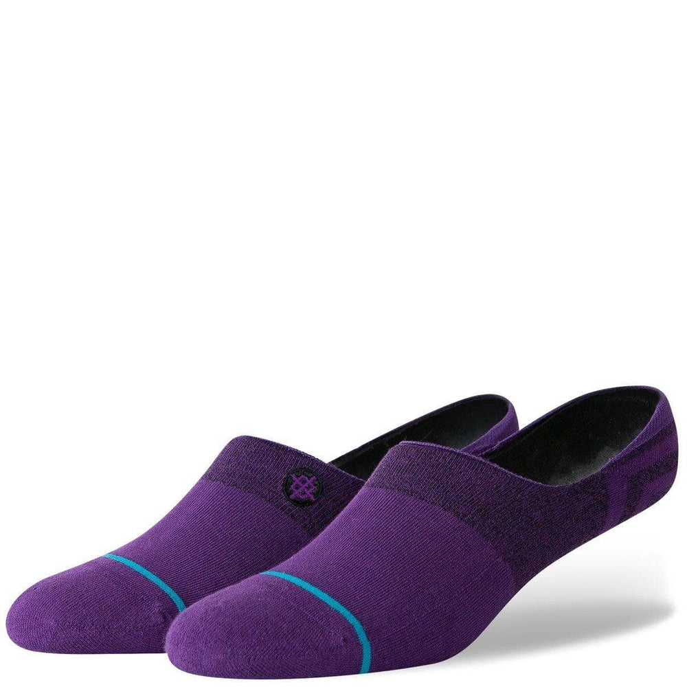 Stance Mens Invisible/No Show Socks Stance Gamut 2 Invisible Socks Purple