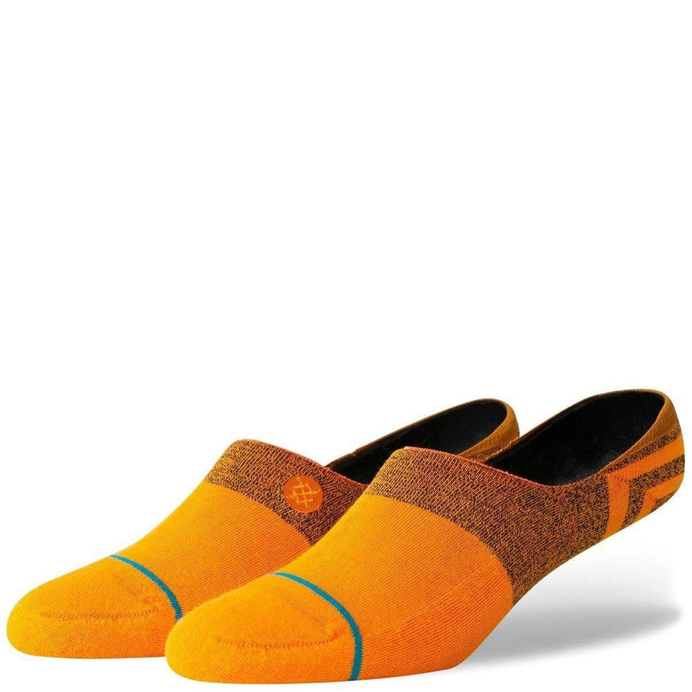 Stance Gamut 2 Invisible Socks Tangerine Mens Invisible/No Show Socks by Stance