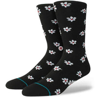 Stance Hendrikson Socks in Black Mens Crew Length Socks by Stance