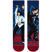 Stance I Want To Dance Socks - Red Mens Crew Length Socks by Stance