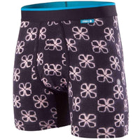 Stance Later Wholester Boxers Butter Bland in Black Mens Boxer Briefs Underwear by Stance