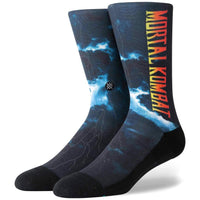 Stance Mortal Kombat II Socks - Black Mens Crew Length Socks by Stance