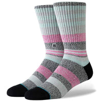 Stance Munga Socks - Black Mens Crew Length Socks by Stance