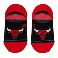 Stance NBA Arena Bulls Invisible Low Socks in Red Mens Low/Ankle Socks by Stance