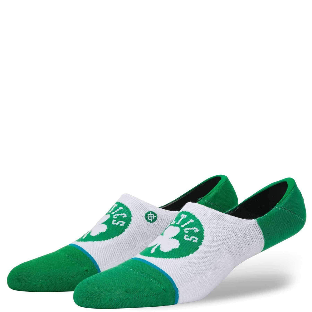 Stance NBA Arena Celtics Invisible Low Socks in Green Mens Low/Ankle Socks by Stance