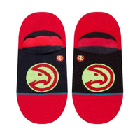 Stance NBA Arena Hawks Invisible Low Socks in Orange Mens Low/Ankle Socks by Stance