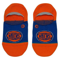 Stance NBA Knicks Invisible Low Socks in Blue Mens Low/Ankle Socks by Stance