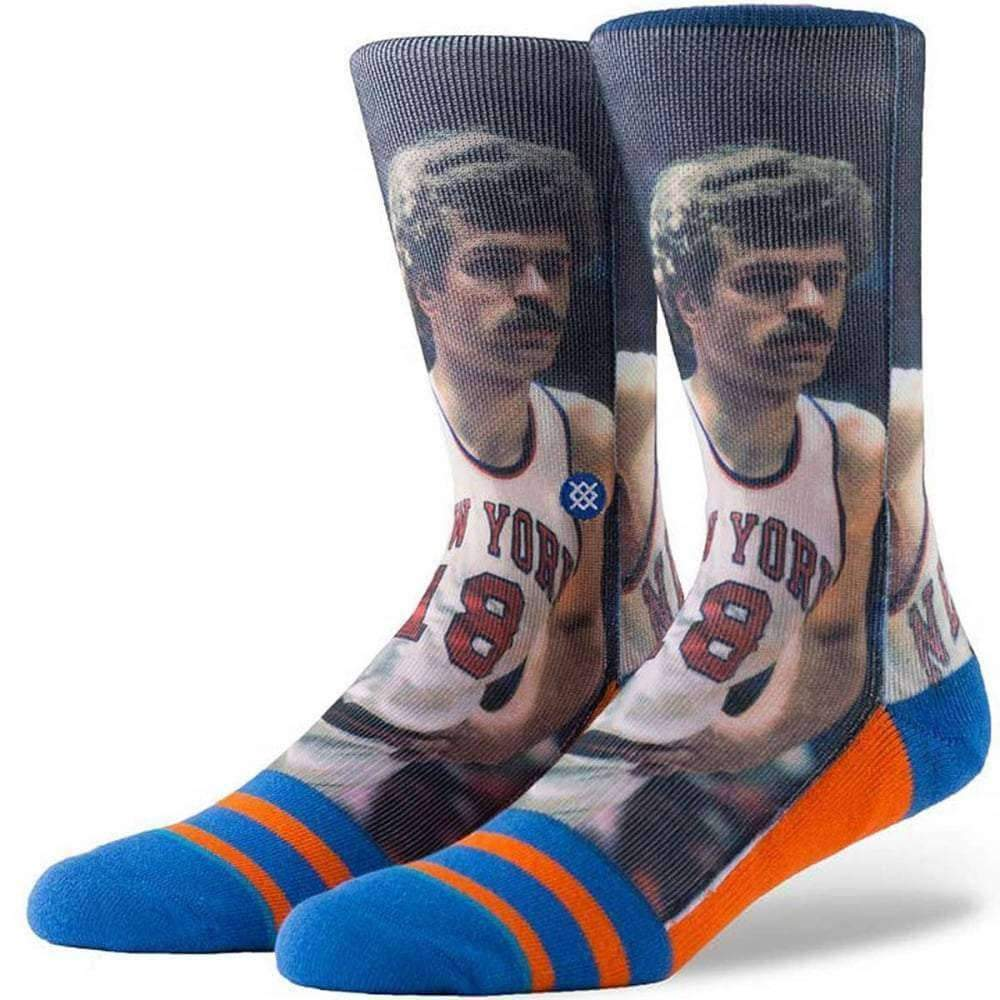 Stance NBA Legends Phil Jackson Mens Basketball Basketball Socks in Orange Mens Crew Length Socks by Stance