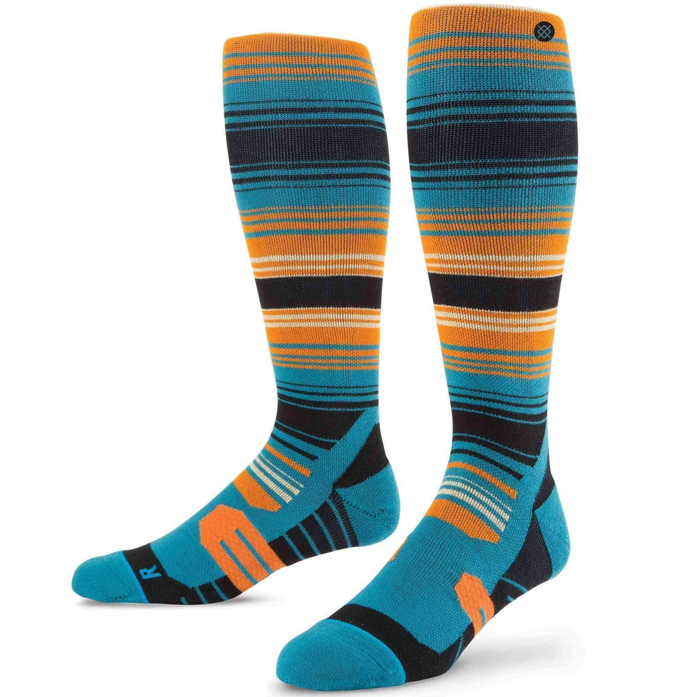 Stance Portillo Ski/Snowboard Socks in Blue Mens Snowboard/Ski Socks by Stance