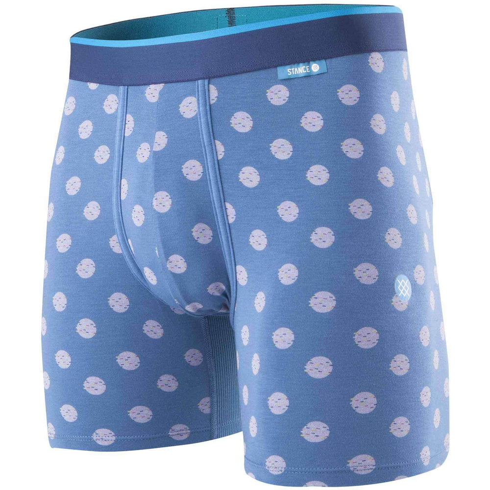 Stance The Drop Out Wholester Boxer Brief - Blue Mens Boxer Briefs Underwear by Stance