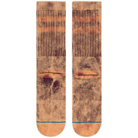 Stance Tritton Socks - Maroon Mens Crew Length Socks by Stance