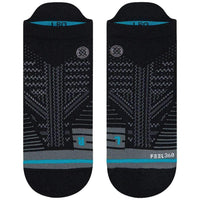 Stance Uncommon Train Tab Socks - Black Mens Running/Training Socks by Stance