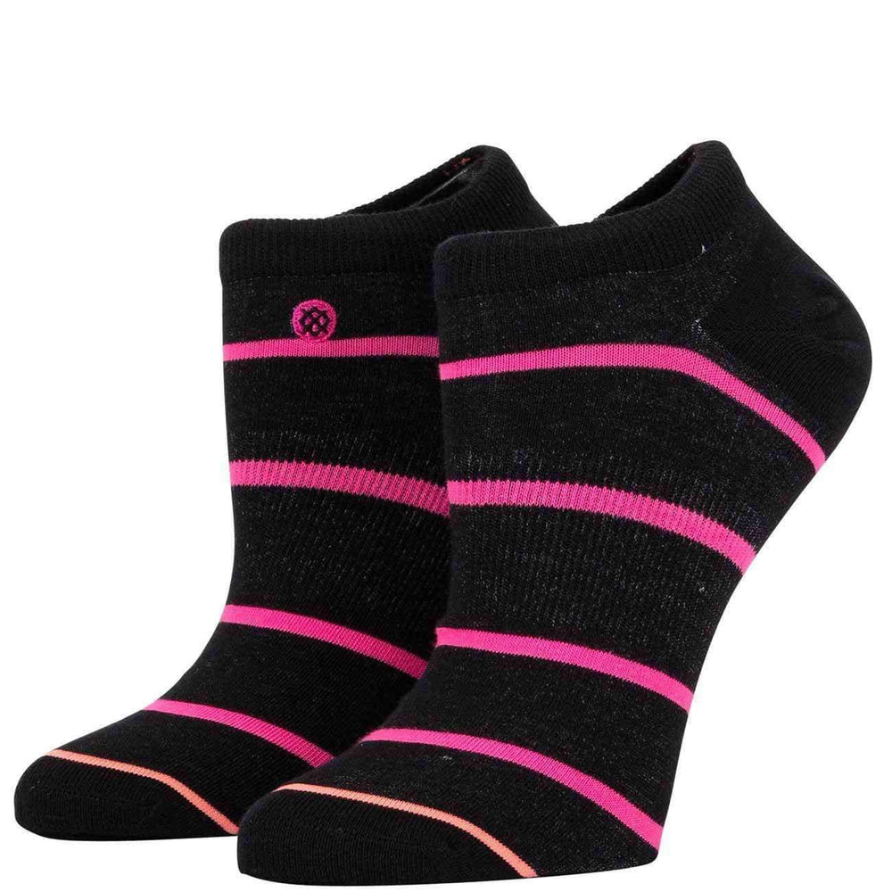 Stance Womens Ally Socks - Black Womens Low Ankle Socks by Stance