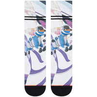 Stance Womens Astrodog Crew Socks - Fuschia Womens Crew Length Socks by Stance
