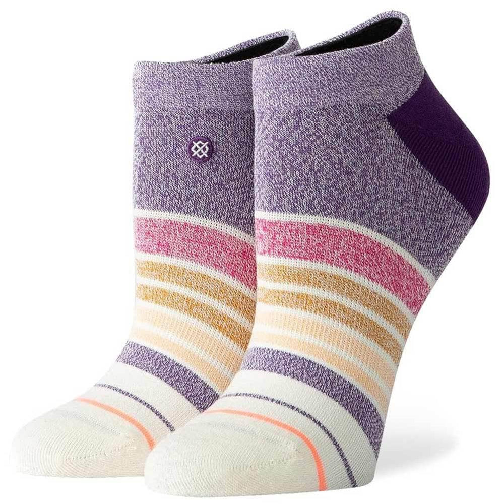 Stance Womens Invisible/No Show Socks Stance Womens Bring It Back Invisible Socks Purple