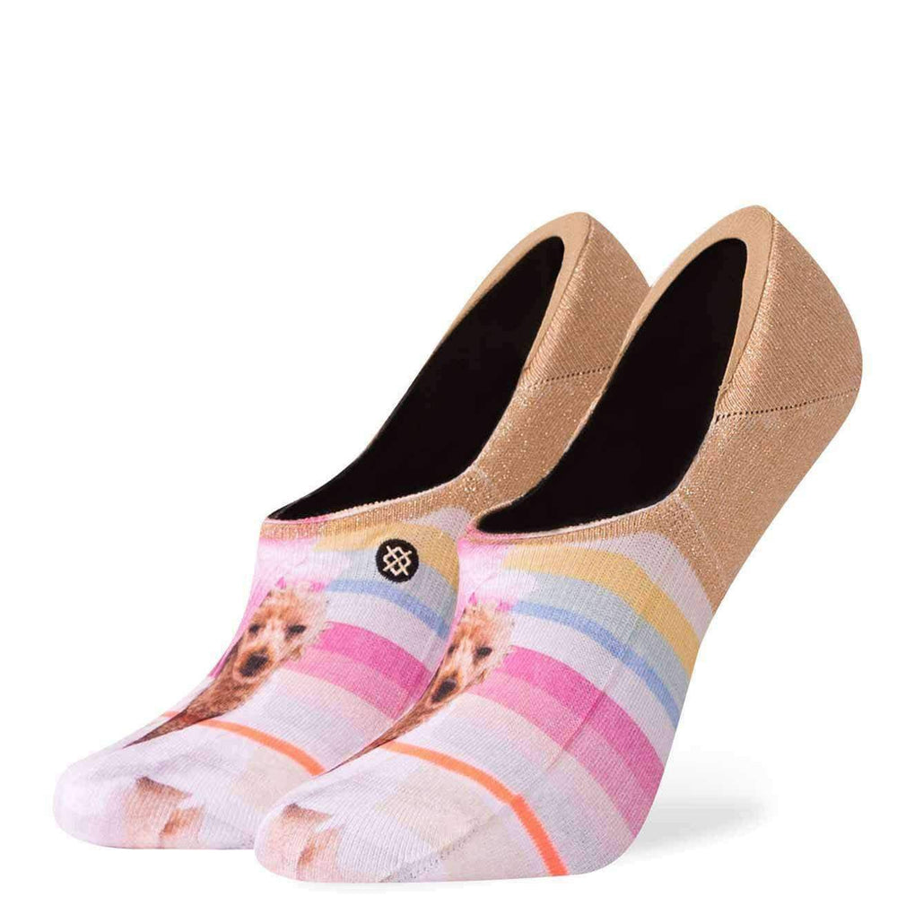 Stance Womens Call Me Bev Super Invisible Socks - Pink Womens Invisible/No Show Socks by Stance