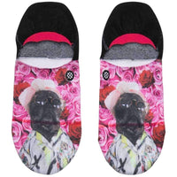 Stance Womens Call Me Later Super Invisible Socks in Black Womens Invisible/No Show Socks by Stance