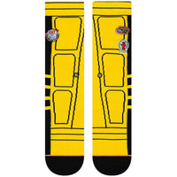 Stance Womens Kill Bill Bride Jacket Socks - Yellow Womens Crew Length Socks by Stance