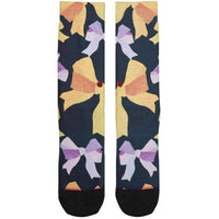 Stance Womens Mine Socks in Black Womens Crew Length Socks by Stance