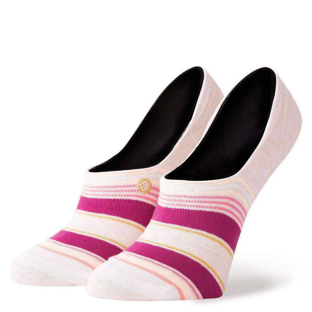 Stance Womens Roxana Super Invisible Socks in Natural Natural Womens Invisible/No Show Socks by Stance