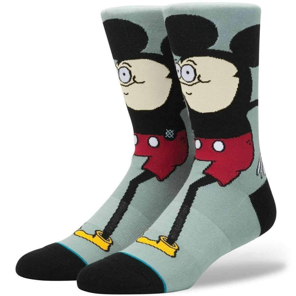 Stance X Disney Howell Mouse Socks in Blue Mens Crew Length Socks by Stance L (UK8-12)