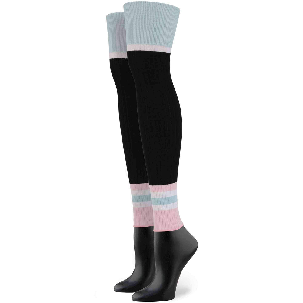 Stance X Rihanna Sporty Baby Socks in Black Womens Knee High Socks by Stance