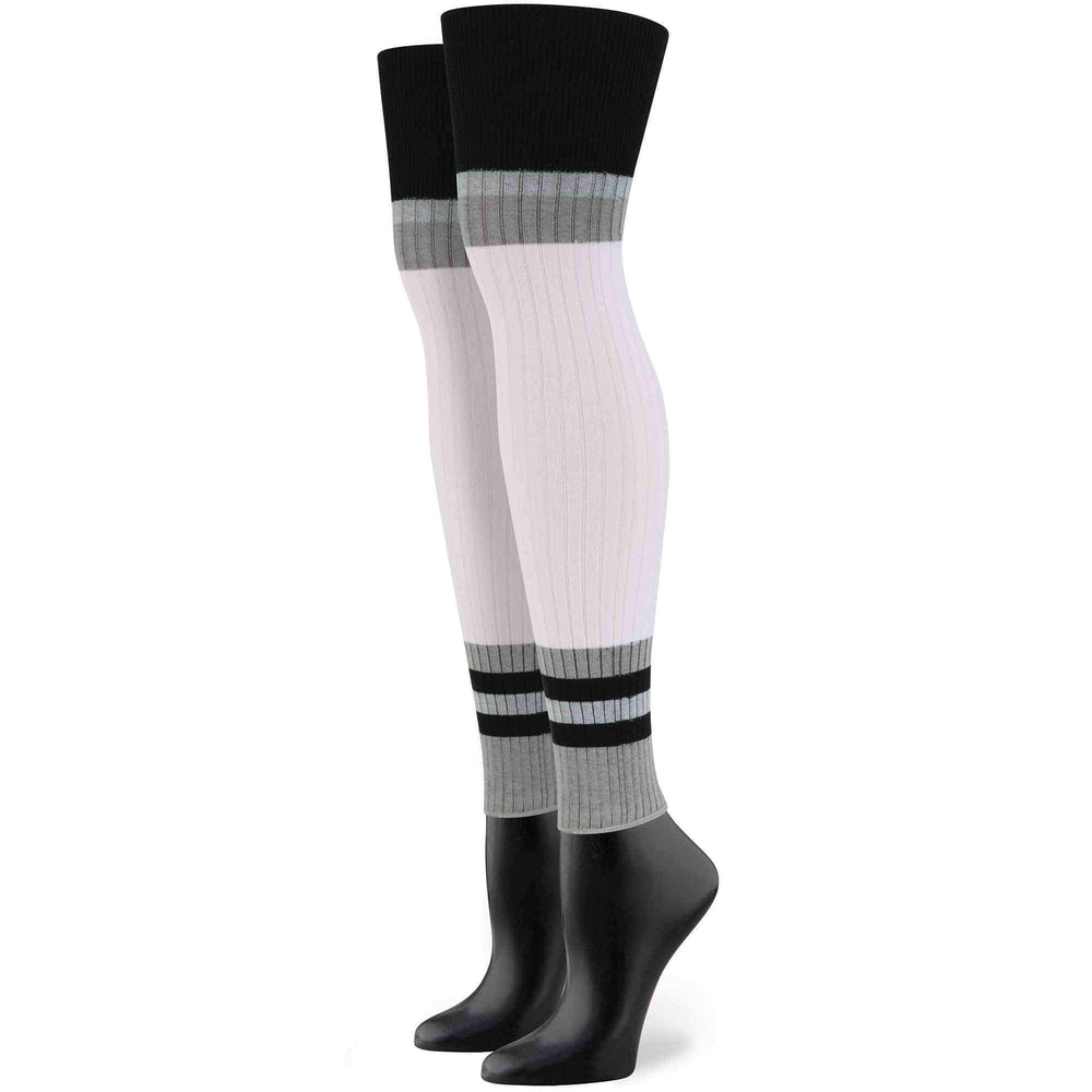 Stance X Rihanna Sporty Baby Socks in White Womens Knee High Socks by Stance
