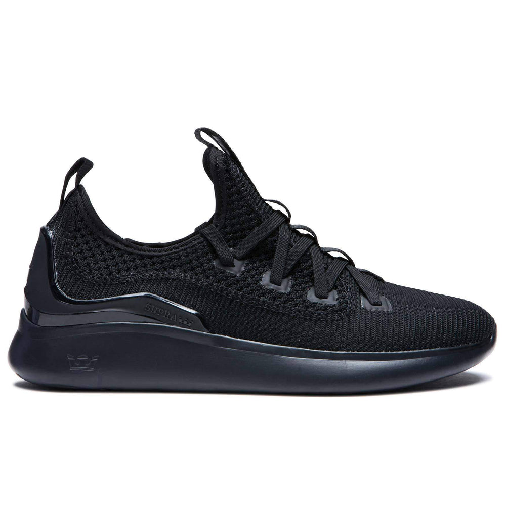Supra Mens Running Shoes/Trainers Supra Factor Shoes - Black