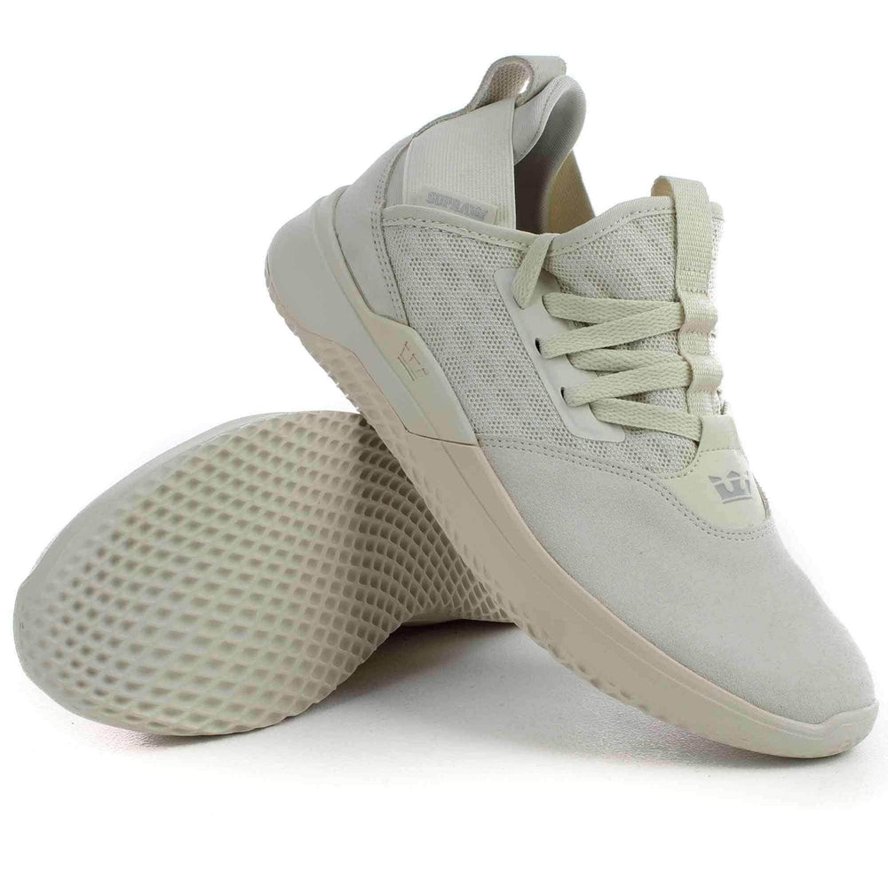 Supra Titanium Shoes in Off White Mens Casual Shoes by Supra