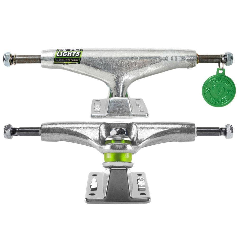 Thunder Skateboard Trucks Thunder Lights Skateboard Trucks (PAIR) Polished 145mm