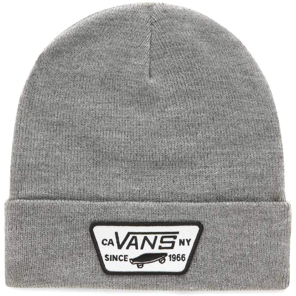 Vans Kids Beanie Hat Vans Boys Milford Kids Beanie Heather Grey O/S (one size)