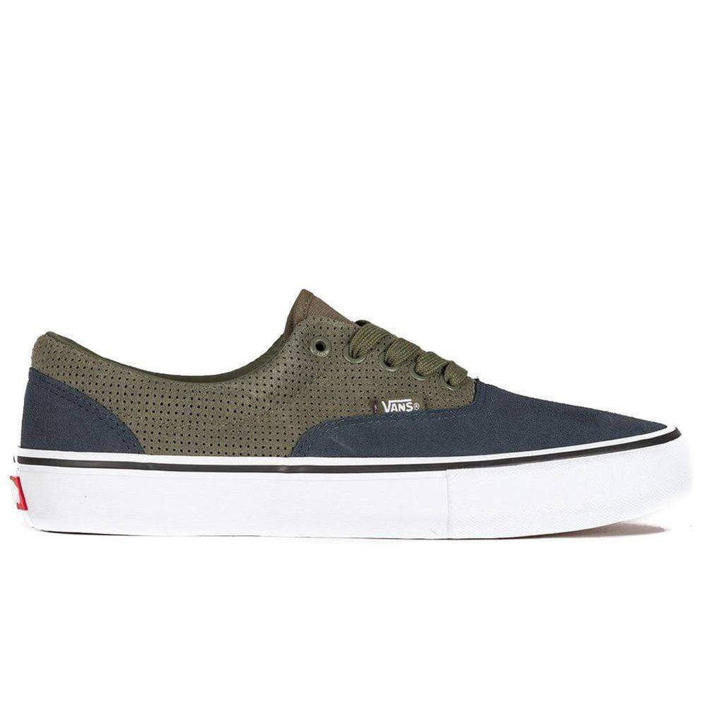Vans Mens Skate Shoes Vans Era Pro Skate Shoes - Grape Leaf Ebony