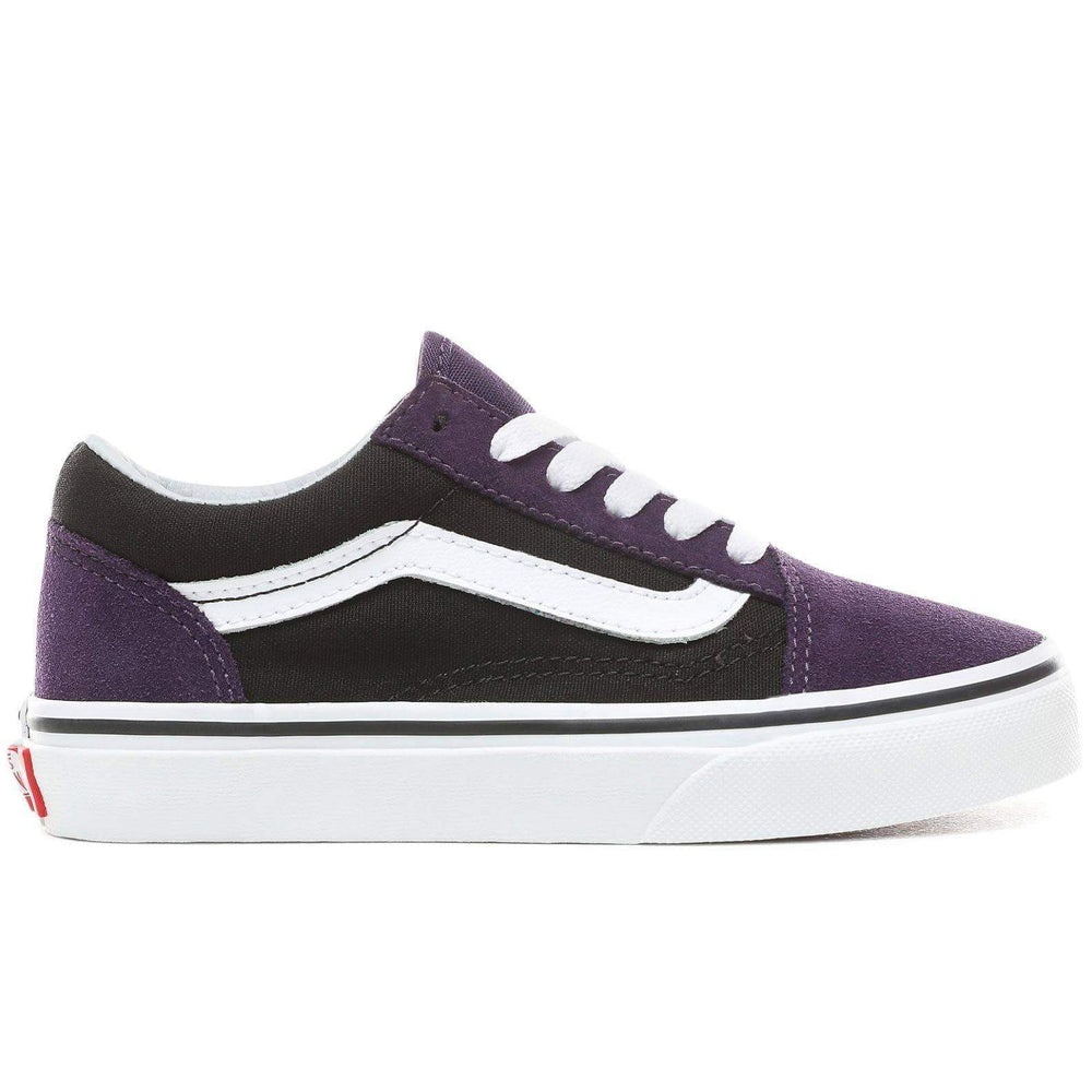 Vans Kids Old Skool Skate Shoes Mysterioso/Black Boys Skate Shoes by Vans