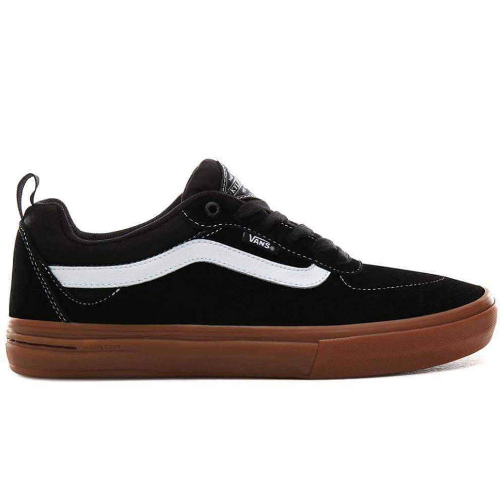Vans Kyle Walker Pro Skate Shoes - Black Gum Mens Skate Shoes by Vans