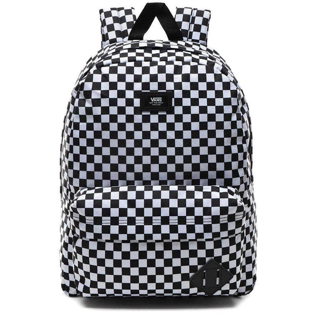 Vans Old Skool III Backpack Black White Check O/S (one size) Backpack/Rucksack Bag by Vans