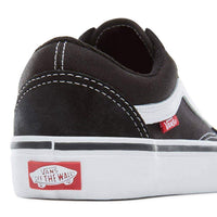 Vans Mens Skate Shoes Vans Old Skool Pro Skate Shoes - Black White