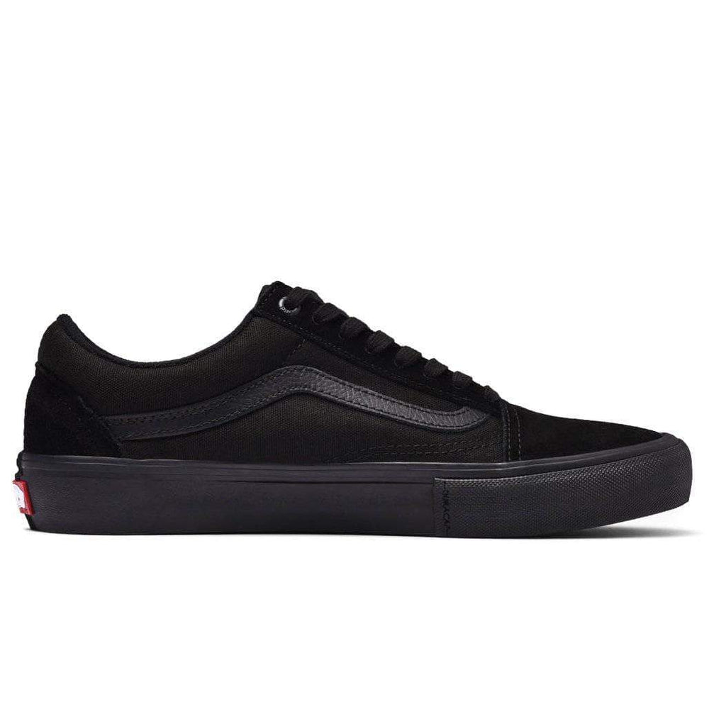 Vans Old Skool Pro Skate Shoes - Blackout Mens Skate Shoes by Vans