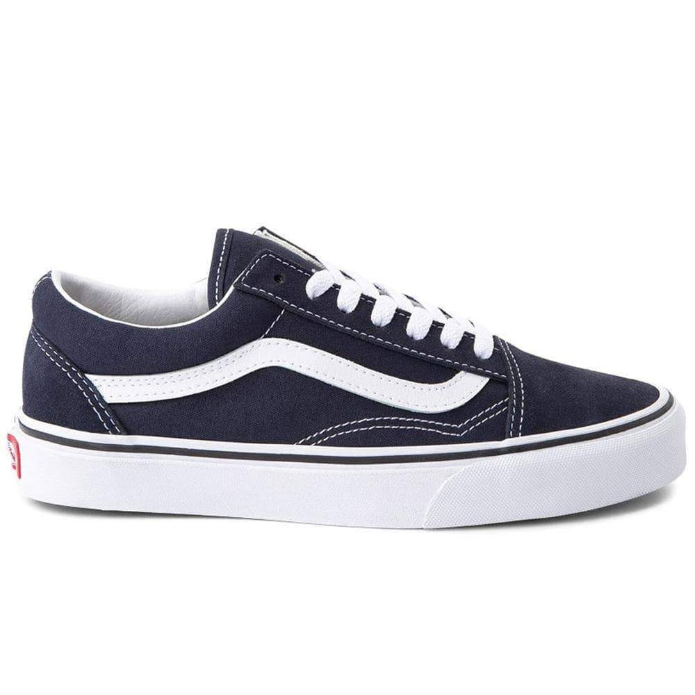 Vans Old Skool Skate Shoes - Night Sky/True White Mens Skate Shoes by Vans