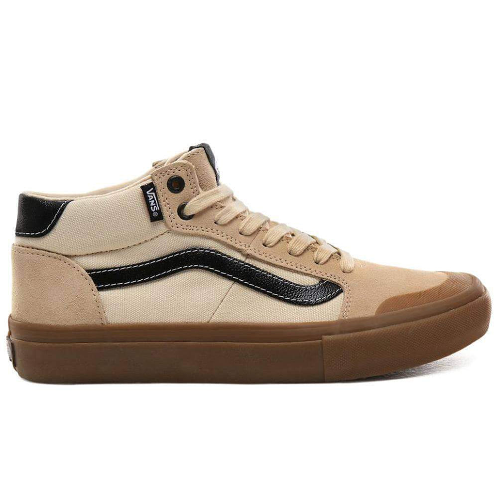 Vans Style 112 Mid Pro - Ty Morrow Macadamia Gum Mens Skate Shoes by Vans